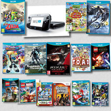 Nintendo Wii U - ASSORTED Games + Black / White Console Bundles - PERFECT GIFT