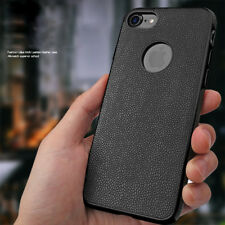 Luxury Slim Hybrid Leather Ultra Thin Shockproof Case Cover For iPhone
