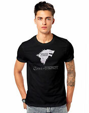 Men Printed Cotton tshirt /t shirt Games of Throne Printed T Shirt