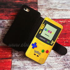 Pokemon GameBoy Wallet iPhone cases GameBoy Samsung Wallet Leather Pho