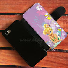Tinker Bell Wallet iPhone cases Disney Samsung Wallet Leather Disney P