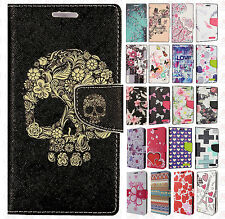 Apple iPhone 7 & 7 PLUS Premium Leather Wallet Pouch Flip Cover +Scree