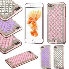 For Apple iPhone 7 & 7 PLUS Diamond Desire Back BLING Hard Cover +Scre