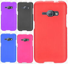 For Verizon Samsung Galaxy J1 Rubberized Hard Protector Case Snap On P