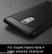 For Xiaomi Redmi Note 4 Premium Brushed Pattern Soft silicone Back Cover Case