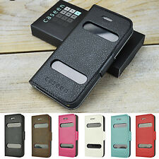For Apple iPhone SE Slim Slide to Answer Wallet Style Case Cover