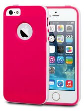Veckko® Hard Bumper Shell Soft TPU Shockproof Case Cover For iPhone 5
