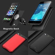 External MagneticBack Power bank Pack battery Charger Case For iPhone6