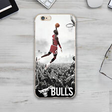 NBA Chicago Bulls Art Rubber TPU Silicone Cover Case Apple Iphone 4s 5