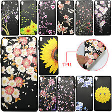For Sony Xperia E5 TPU Patterned Strap Ultra Slim Soft Silicone Case G
