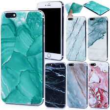 Luxury Marble Pattern TPU Protective Ultra Thin Case Cover For iPhone