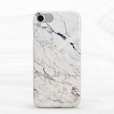 Beige Cracked Marble Design Soft Silicone TPU Rubber Case iPhone 5 6 S