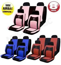 8PC RS SPORTS UNIVERSAL CAR SEAT COVER SET WITH A CARRY BAG WASHABLE SET NEW