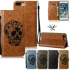 Magnetic Strap Leather Wallet Card Slot Stand Case Cover For iPhone 6s