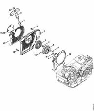 Stihl ms 201 t chainsaw (ms201 t) parts diagram.