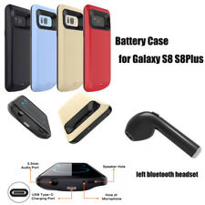 External Power Bank Battery Charger Case For Galaxy S8 S8Plus +Bluetoo