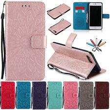 Leather Wallet Case Flip Stand Card Holder Magnetic Cover For iPhone 5