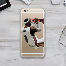 Lebrone NBA Cavaliers Rubber TPU Silicone Cover Case Apple Iphone 4s 5