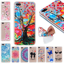 Clear Crystal Soft TPU Rubber Ultra Slim Back Case Cover For iPhone 5s