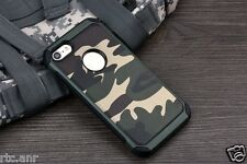 Hybrid Armor Camouflage Shockproof Back Cover Case for Apple iPhone 7