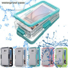 Waterproof Lifetime Shockproof Cover Case For Samsung Galaxy S7 S6 edg