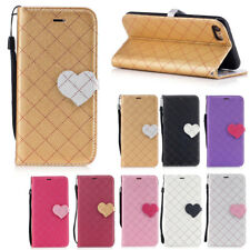Magnetic Thin PU Leather Card Holder Wallet Stand Case Cover For Apple