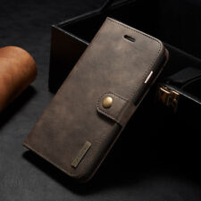 For Apple iPhone 7/7 Plus Flip Leather Card Wallet Removable Magnetic