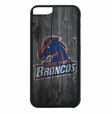 Boise State Broncos Phone Case For iPhone 7 6S 6 PLUS 5 5S 4 4S Black