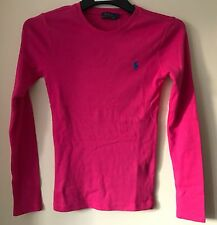 BNWT POLO RALPH LAUREN WOMENS/LADIES LONG SLEEVE CREW NECK T-SHIRT/TEE/TOP