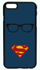SUPERMAN CLARK KENT BLACK PHONE CASE COVER FOR IPHONE 7 6S 6 PLUS 5S 5