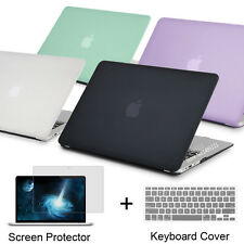 Premium Protection Kit for Apple MacBook | Cover + Screen Protector + Keyguard