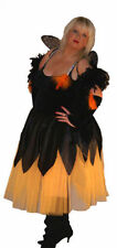 HALLOWEEN/Scary/Horror PUMPKIN FAIRY Ladies Fancy Dress Costume Sizes 10-42