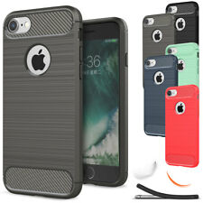 For iPhone 5 5s SE Slim Shockproof Rubber Armor Silicone Rugged Soft C