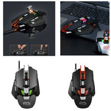 AJ-GTX Wired USB Gaming Mouse Mechanical Backlight Mice for Laptop Program