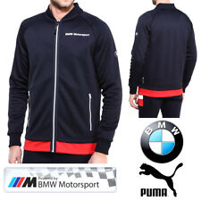 PUMA BMW Motorsport Mens Jacket M Series Formula 1 F1 Full Zip Track Top Jumper