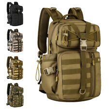 Outdoor Military Tactical Backpack 3 Day Assault Pack Molle Army Bug Out Bag 30L