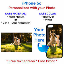 Personalized Custom Photo Picture Phone Case Cover Fits iPhone 5c