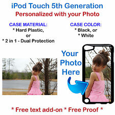 Customized Photo Personal Picture Phone Case Cover For iPod Touch 5th