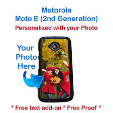 Customized Photo Personal Picture Phone Case Cover For Motorola Moto E