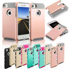 Shockproof Hybrid Rugged Rubber Bling Hard Case Cover For Apple iPhone