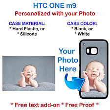 Customized Personal Picture Photo Phone Cover Case Fits HTC M9