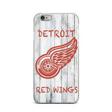 NFL Red Wings Ultra Thin Rubber Gel Silicone Case For Apple iPhone 5 6