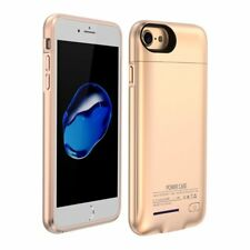 Battery External Power Bank Charger Case Charging Cover For iPhone 7 P