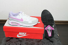 Nike Air Max Trax femmes COURSE chaussures blanc violet taille 38 ou 38,5 NEUF