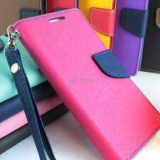 For Samsung Galaxy S III 3 Hybrid PU Leather & TPU Flip Wallet Pouch C