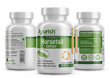 Horsetail Pure Natural 8% Shavegrass Silica Extract Capsule 500 mg @ # @ HV001