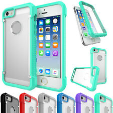 Luxury Protector Slim Clear TPU Bumper Skin Back Case Cover For iPhone