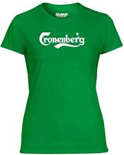 T-shirt donna BEER0047 Cronenberg Beer Ironic Happiness