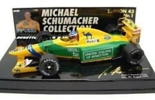 MINICHAMPS Michael Schumacher Collection 1:43rd scale BENETTON F1 model cars