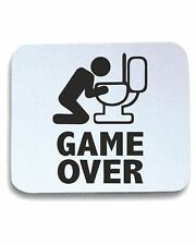 Tappetino mouse BEER0060 Game over puke toilet hangover fun Happiness